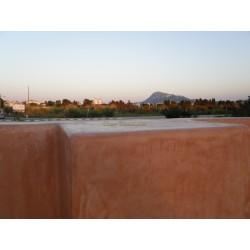 Easy Tadelakt Basico, outside, wall, terrace,