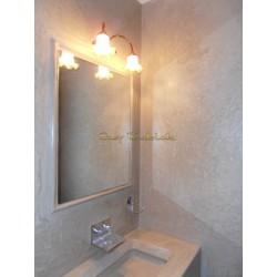 Tadelakt Basico from EasyTadelakt, bathroom in Tadelakt from morocco