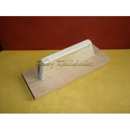 Wooden Trowel for the Tadelakt tecnique