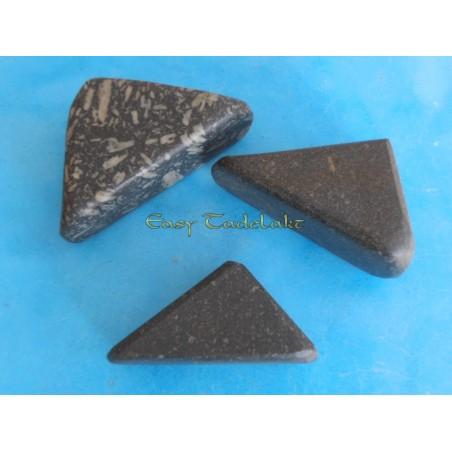 Tadelakt polish stone triangle, big