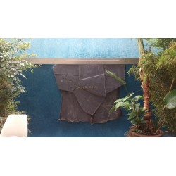 Easy Tadelakt Basico exclusive outdoor fountain