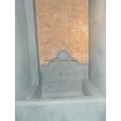 Beton cire clay or Tadelakt from Marakech check it out